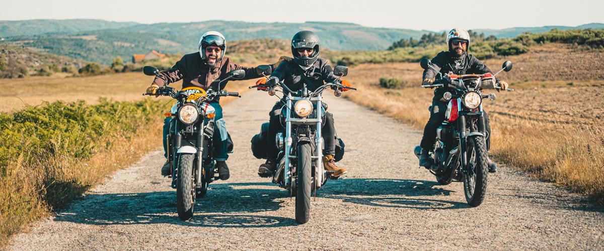 Rider levou 64 motos antigas pelas melhores estradas do centro de Portugal